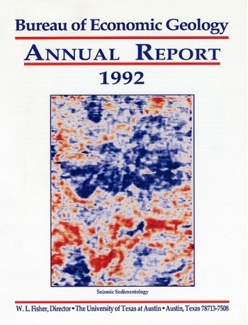 Texas Bureau of Economic Geology 1992 annual report